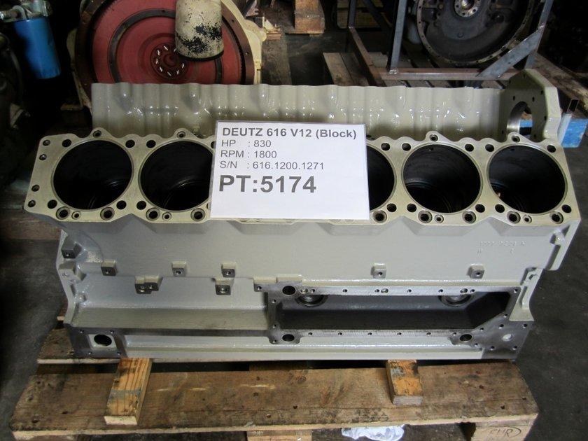 Diesel Engine Spare Parts Manufacturers Companies In Philippines Mail: DEUTZ TBD 616 V12 (CYLINDERBLOCK/12277264/12314195