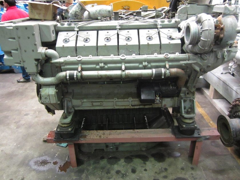 Deutz Tbd 616 V12 Parts Engine Spare Part Pool Trading