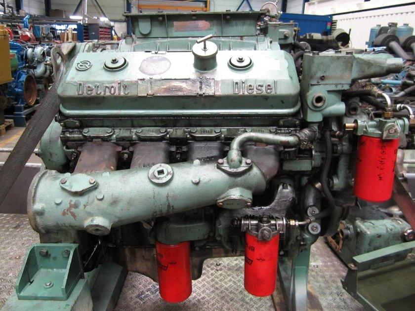 detroit diesel 8v-92n diesel engine