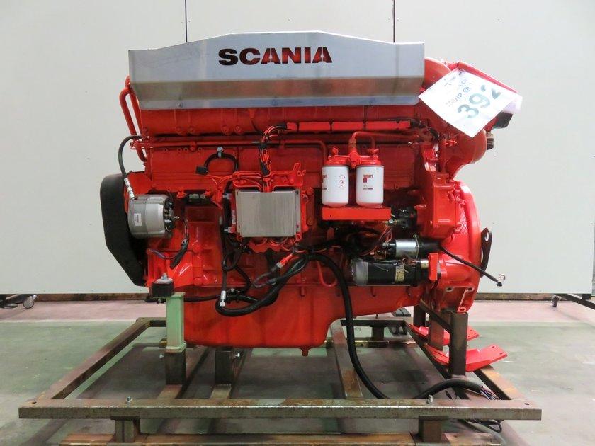 Scania Di12 59m Ccnr2 Diesel Engine Pool Trading