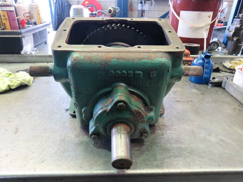 Parts Power Take Off : Twin disc mg top mounted power take off spare