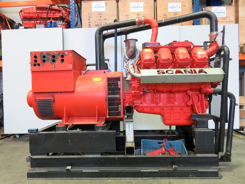 Scania dc16 43a generatorsets pool trading for Pool trading