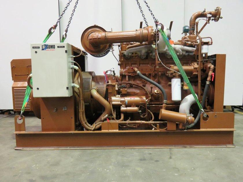 Diesel Engine Spare Parts Manufacturers Companies In Philippines Mail: CUMMINS NT855-G6 Generatorset