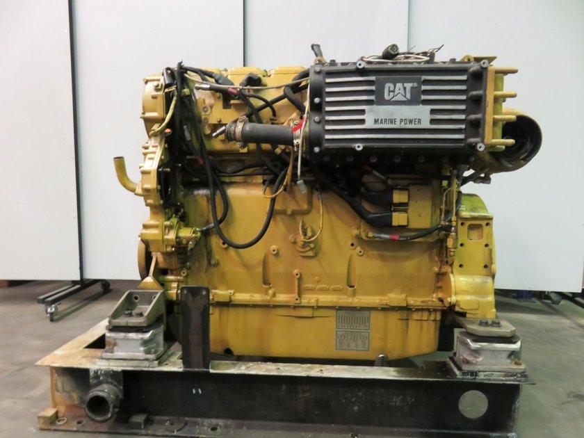 Caterpillar 3406e diesel engine pool trading for Caterpillar 3406 starter motor