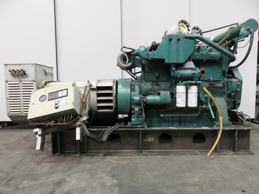 Volvo penta tamd 122a generatorset pool trading for Us electric motor serial number lookup