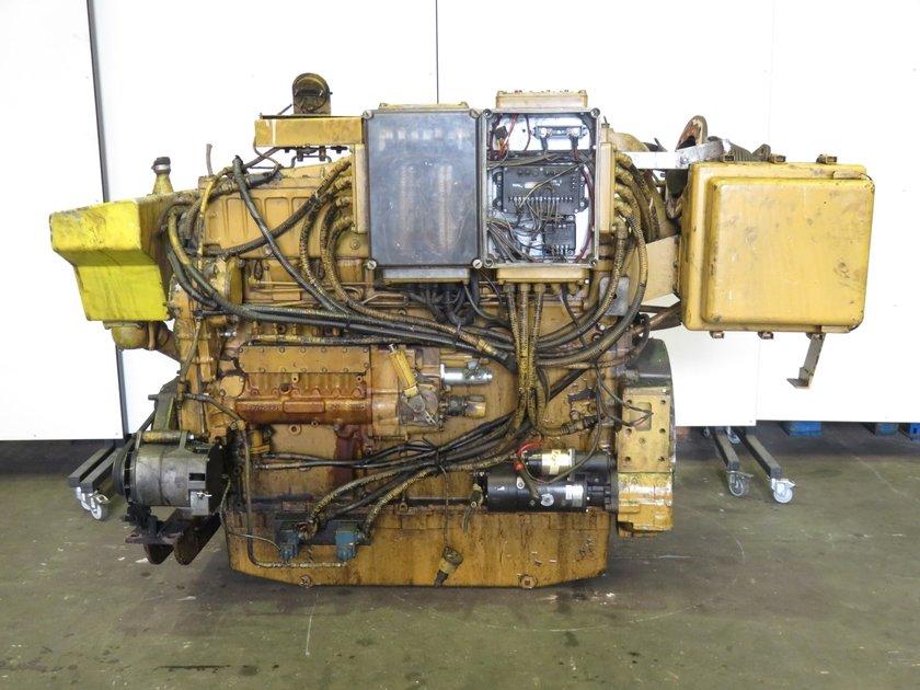 Caterpillar 3406b diesel engine pool trading for Caterpillar 3406 starter motor