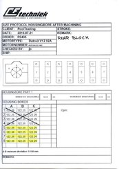 DETROIT DIESEL 12V-92TA (CYLINDERBLOCK REAR)