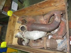 DEUTZ 816 (EXHAUST CORRUGATED TUBE AND ELBOW/3381229/4001425