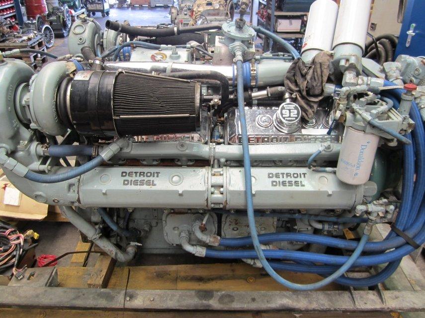 Sell Buy Detroit Diesel 12v 92ta