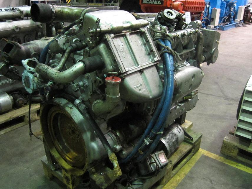 DETROIT DIESEL 6-71TI Diesel Engine - POOL TRADING