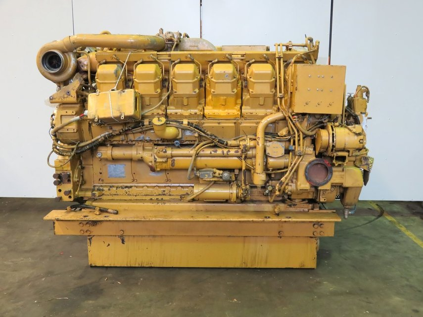Caterpillar 3512 Dita Diesel Engine Pool Trading