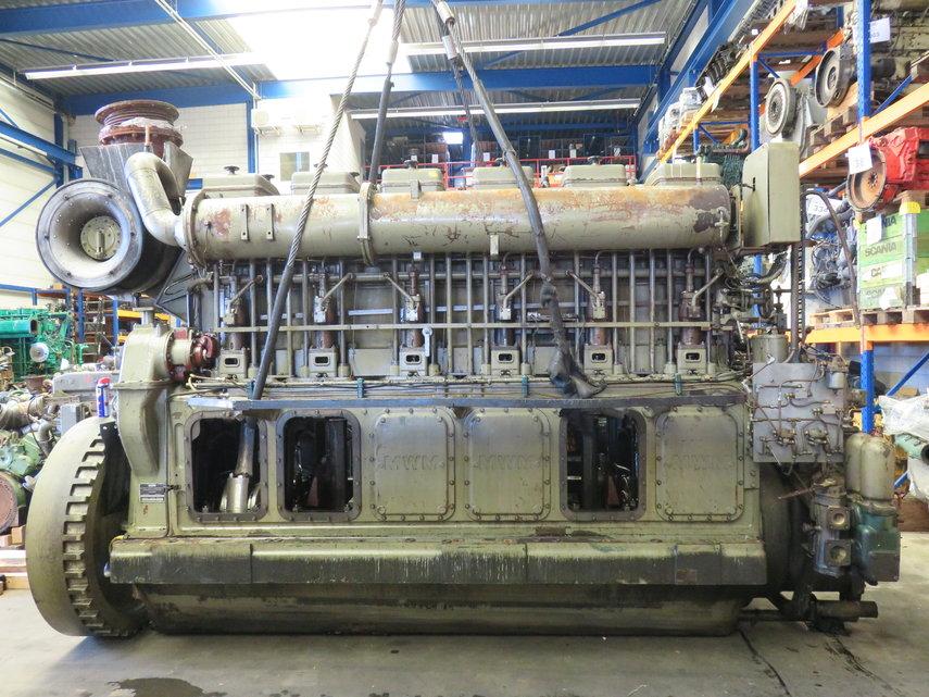 MWM TD 484 - 6U ( complete or for parts ) Diesel Engine