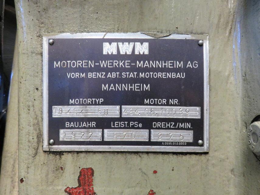 MWM TD 484 - 6U ( complete or for parts ) Diesel Engine - POOL TRADING