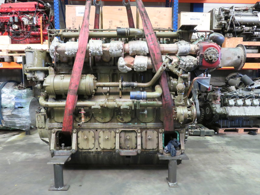 MWM TBD 440 - 6K ( complete or for parts ) Diesel Engine - POOL TRADING
