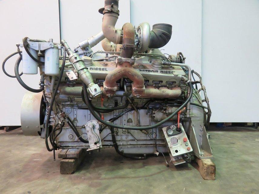 Detroit Diesel 16v 92ta Pool Trading