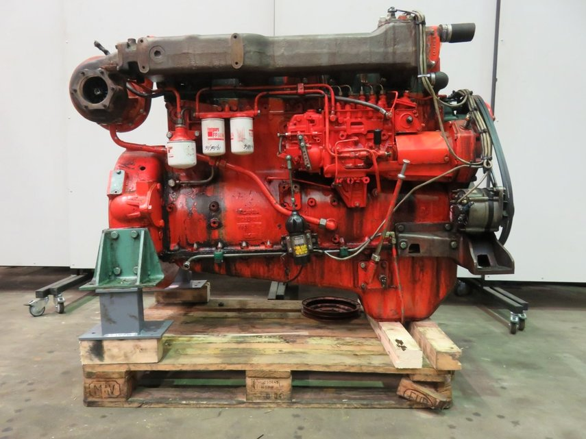 Scania Ds11 40a A25s Diesel Engine Pool Trading