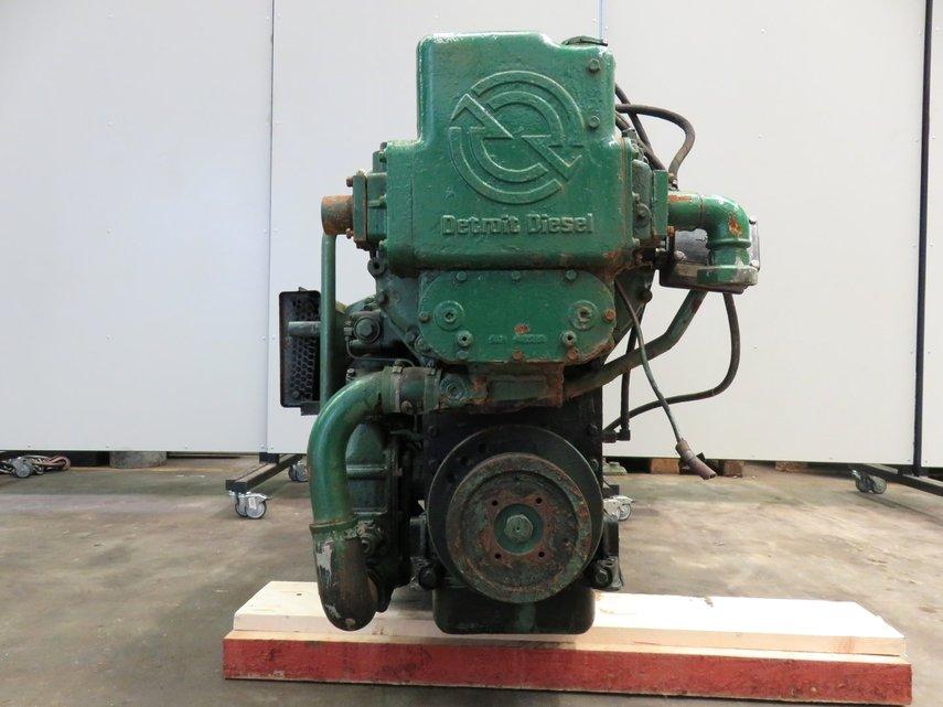 Detroit diesel 6 71n gebruikte dieselmotoren pool trading for Pool trading