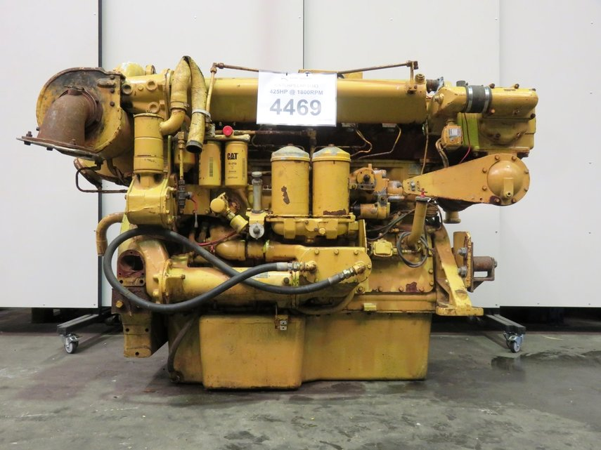 CATERPILLAR D343 Diesel Engine - POOL TRADING