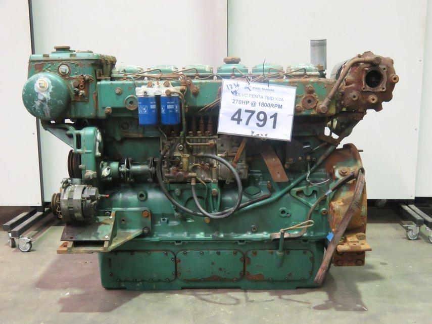 VOLVO PENTA TMD102A Diesel Engine - POOL TRADING